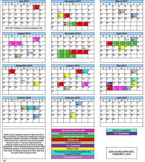 printable calendar 2015 academic 2015 2016 hawaii doe schedule calendar search results