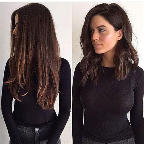 how to cut a medium bob haircut dark brown long bob haircut montenr