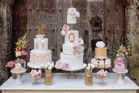 wedding cake table 2 wedding flowers shoot at birtsmorton