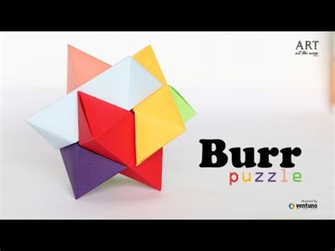 How To Make Origamy - vote no on origami burr puzzle froy