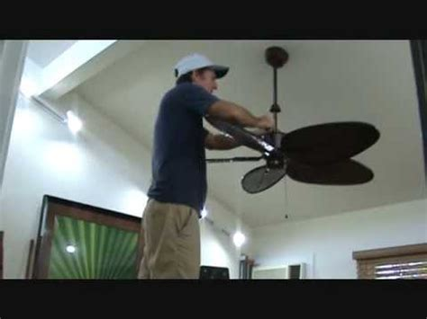 how to fix an unbalanced ceiling fan how to use a ceiling fan balancing kit doovi