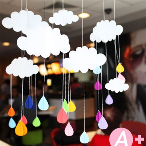 Hanging Decorations by 3pcs Lot Beautiful Cloud Hanging Decoration Birthday