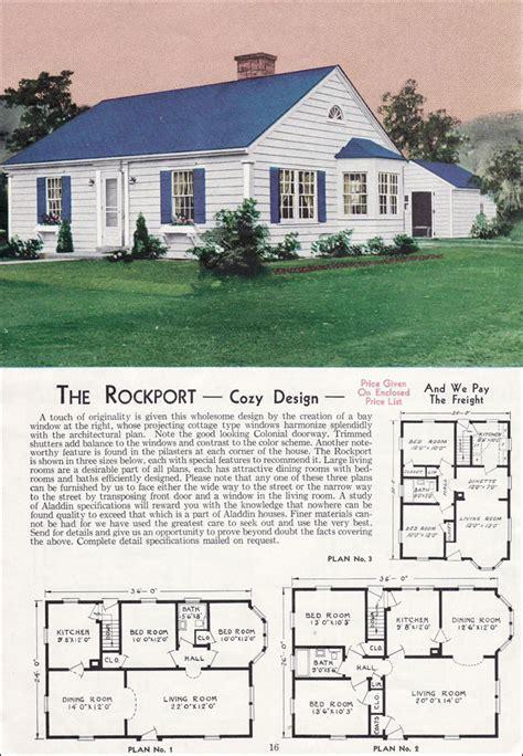 aladdin homes floor plans the rockport 1940 aladdin kit homes house floor plans
