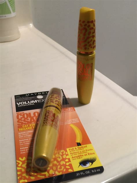 Maybelline Mascara Cat maybelline volum express the colossal cat mascara