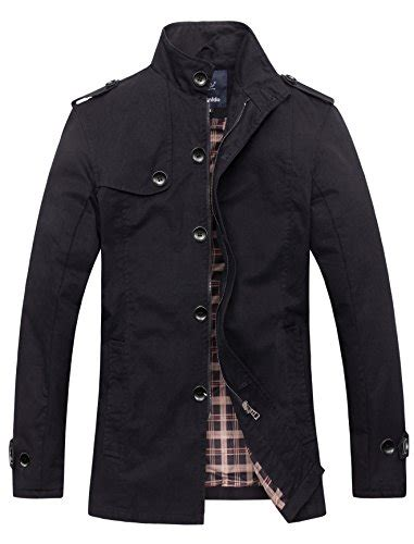 jacket coat import 6251 wantdo s cotton stand collar windbreaker jacket us