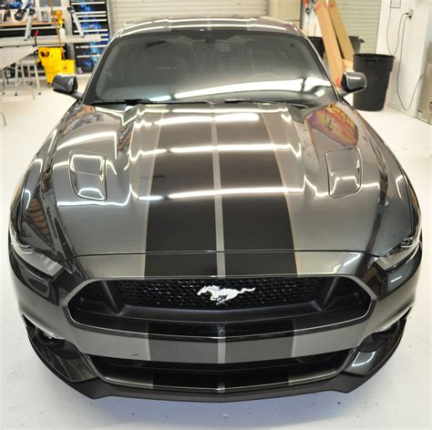 silver mustang with black stripes racing skins 187 silver mustang black g2g racing stripes