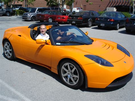 All Electric Car Tesla Tesla Roadster All Electric Car Honaha