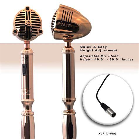 Classic Retro Vintage Style pyle pdmicr74gl classic retro vintage style microphone