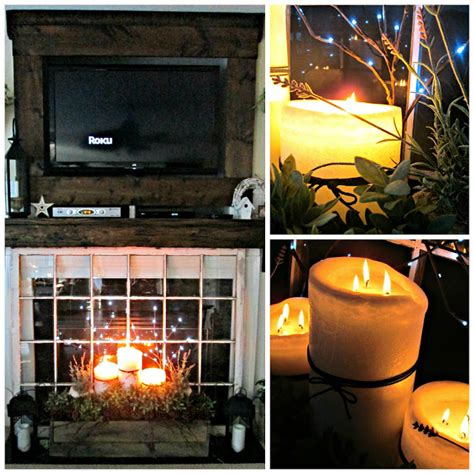 down to earth style indoor summer fireplace