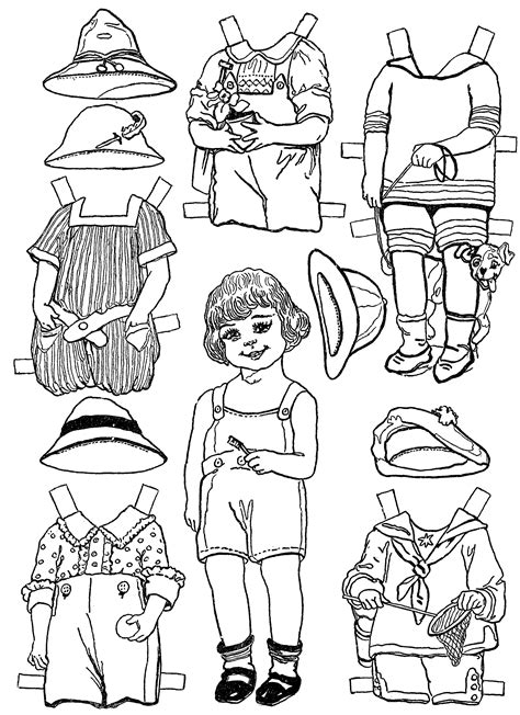 Paper Doll Clothes Coloring Pages by Free Coloring Pages Of Paper Doll Clothes