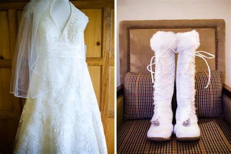 Winterhochzeit Schuhe by Winter Wedding Accessories