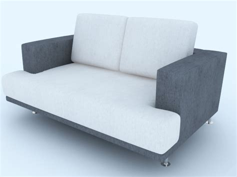 Grey And White Sofa by Gray And White Sofa Downloadfree3d
