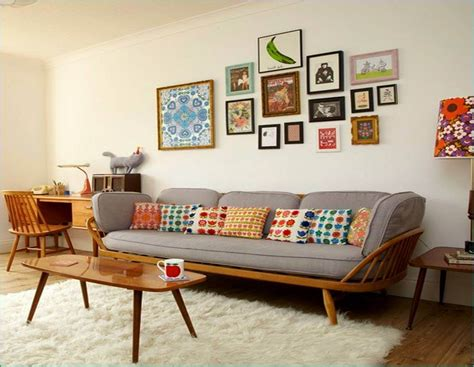 retro livingroom stylish living room designs ideas in retro style