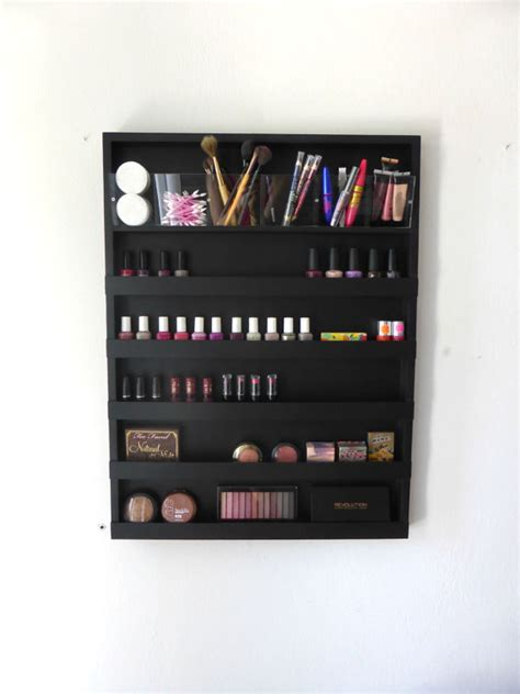 Bathroom Makeup Storage Large Makeup Organizer Bathroom Storage Nail Rack