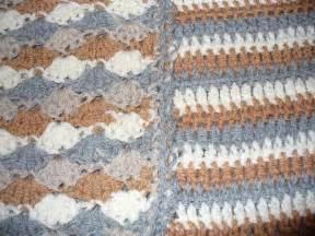 knitting vs crochet my nephew s crochet blanket