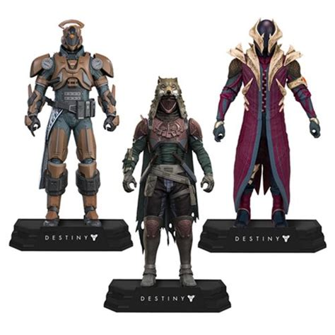 Set 2 Figure destiny figure set mcfarlane toys destiny