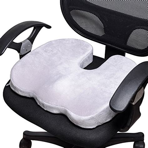 best car seat cushions for lower back coccyx orthopedic contoured memory foam office chair car