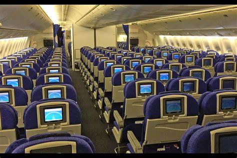 boeing 777 cabin airways boeing 777 200 cabin tour and walk around