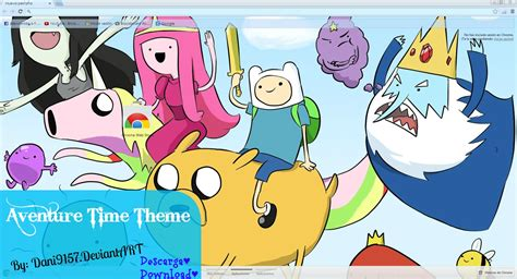 themes google chrome adventure time theme google chrome adventure time by dani9157 on deviantart