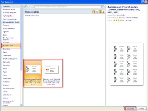 ms word templates business cards oyle kalakaari co