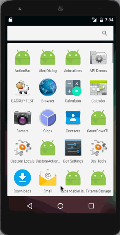 layout animation in android exle android animation exle journaldev