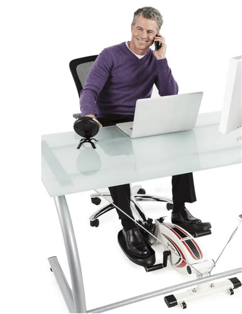 desk exercise machine 3 desk exercise machines 187 fitness gizmos