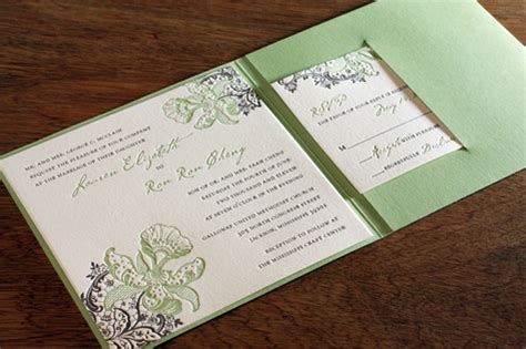 cards and pockets wedding template square pocket folders for letterpress wedding invitations