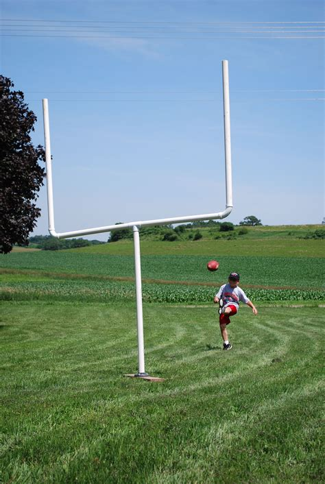 backyard football field goal posts home design inspirations