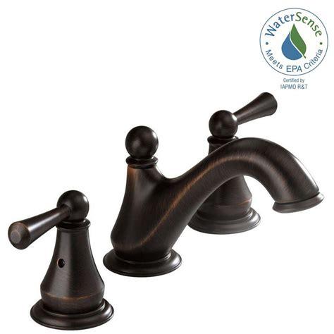 Delta Lewiston Faucet by Delta Lewiston 8 In Widespread 2 Handle Bathroom Faucet