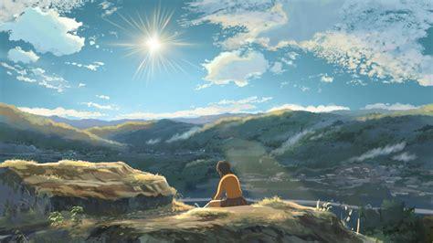 anime wallpaper hd landscape anime landscape hoshi wo ou kodomo wallpapers hd