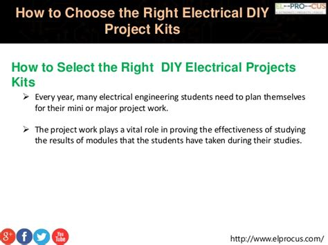 select  diy electrical projects kit  engineering students