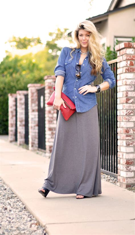 how to wear a maxi skirt over 50 30 maxi skirt looks that will take you from summer into fall