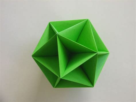 Polyhedron Origami For Beginners - find in http www polyhedron origami