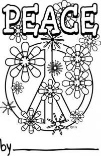 peace and happiness coloring pages az coloring pages