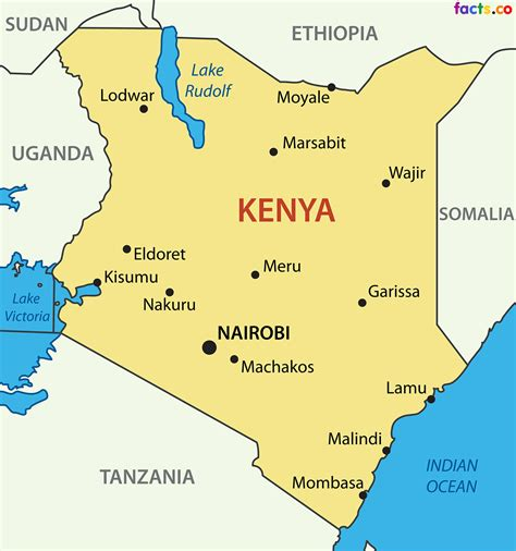 map of kenya kenya map blank political kenya map with cities