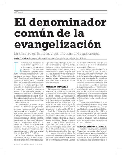 ministerio adventista enero 2014 ministerio adventista enero 2014