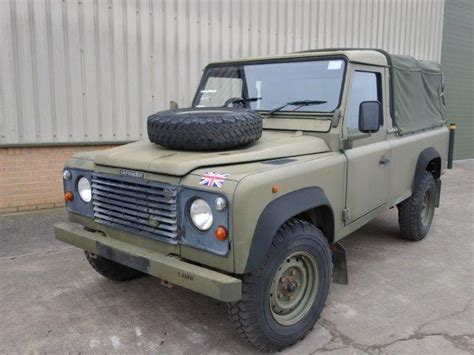 military land rover 110 land rover defender 110 300tdi pickup ex military for sale