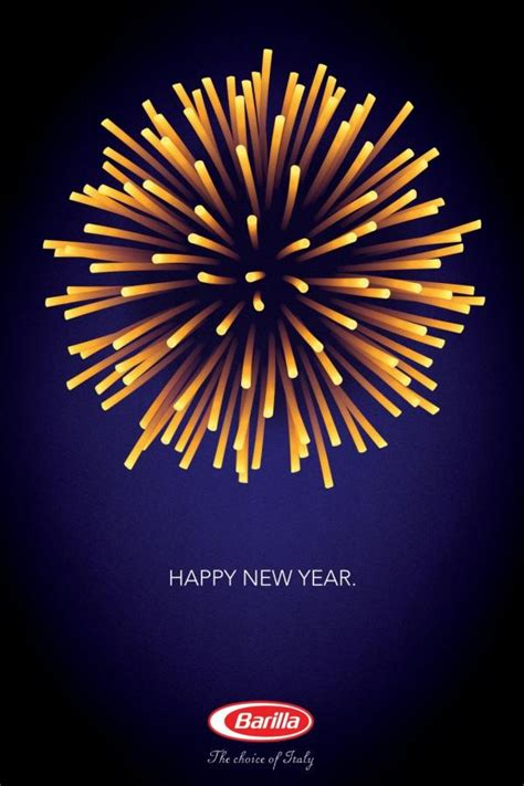 new year print ads barilla pasta quot barilla happy new year quot print ad by y r milan