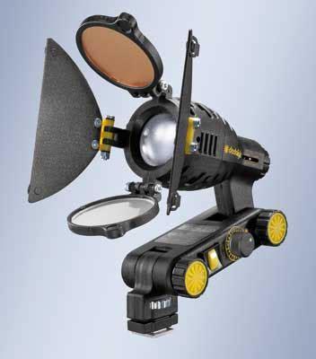 illuminazione cinematografica tutto pronto per il debutto dello shooting