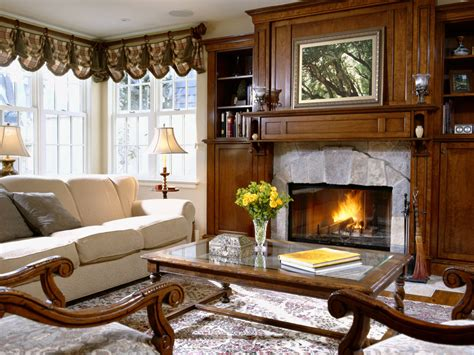 Interior Fireplaces by Interior With A Fireplace Wallpapers And Images