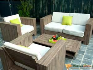 Salon De Jardin En Palette Bois