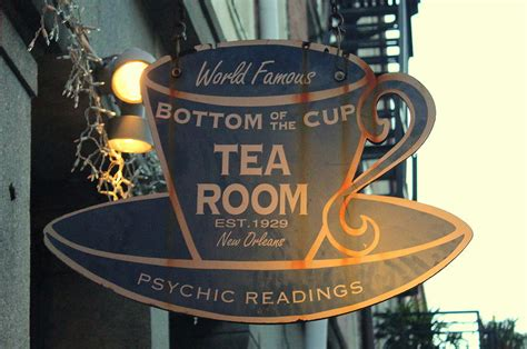 Bottom Of The Cup Tea Room by Bottom Of The Cup Tea Room Metal Sign Photograph By