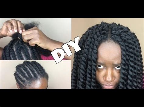 youtube crochet hairstyles on thinning hair 43 brading pattern for mambo twist diy youtube