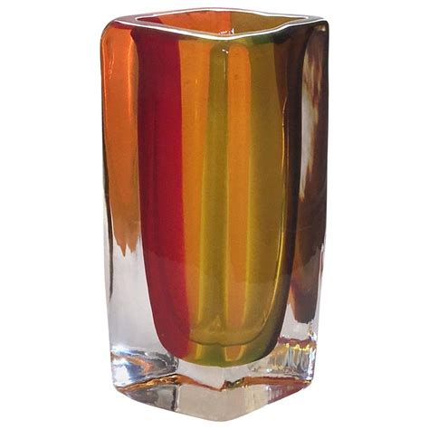 large venini sommerso murano vase for sale at 1stdibs