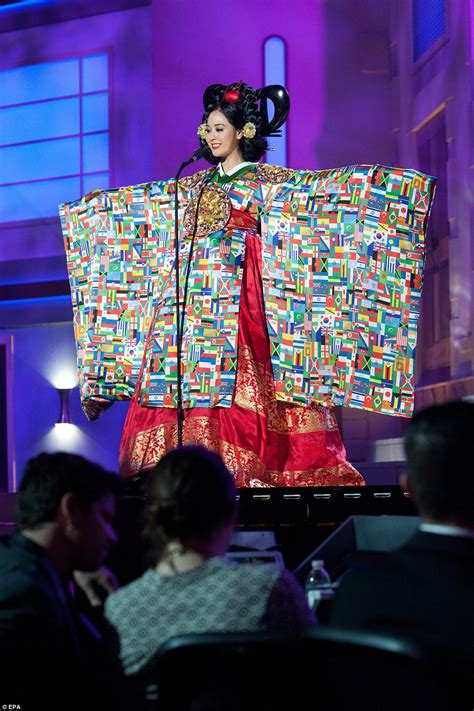 flags of the world dress the national costume round of miss universe 2015 daily