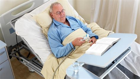 patient in hospital bed entreprise 5000 hospital bed ensuring quality of care