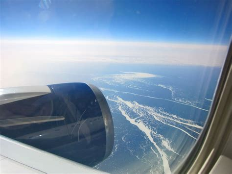 window seat in flight this is what an erupting volcano looks like from an