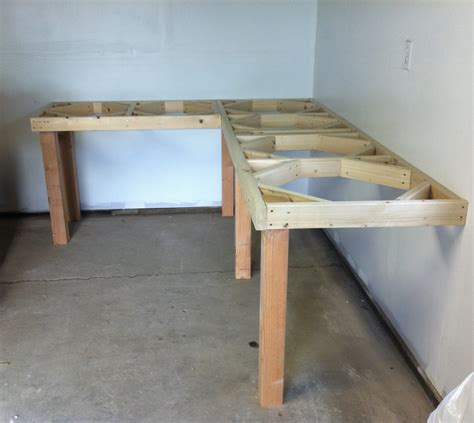 garage bench plans garage corner workbench google search garage