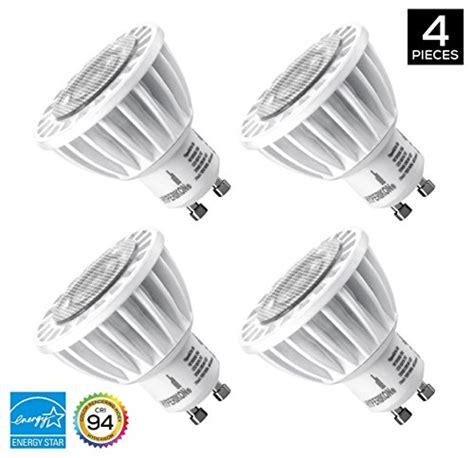 dimmable led track light bulbs hyperikon gu10 led track light bulb 50w equivalent