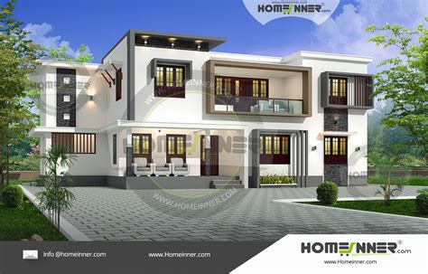 home design for bedroom 2500 sq ft contemporary 4 bedroom house plans